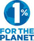 Logo 1 % for the Planet